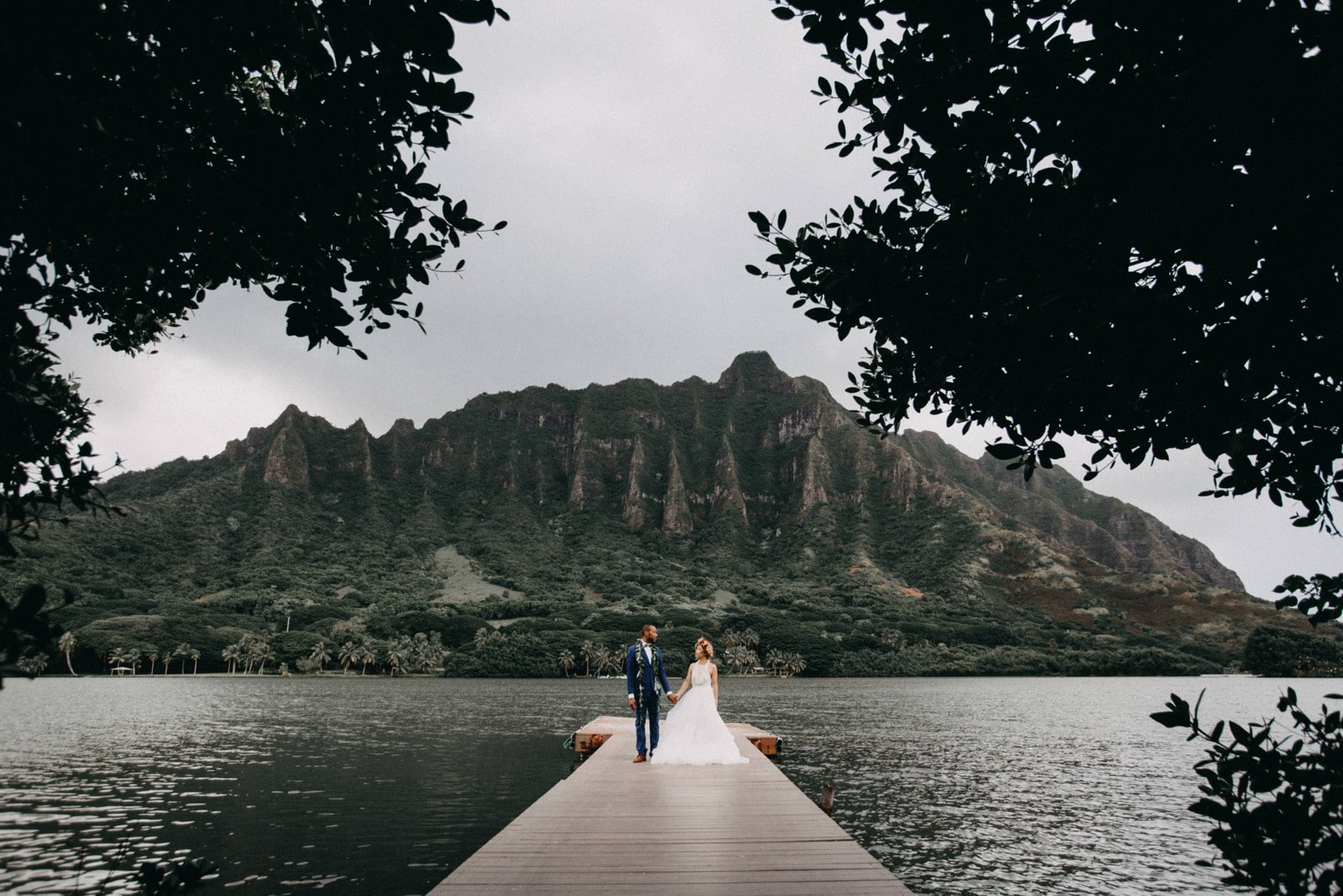 Kualoa Ranch Wedding Moli'i Gardens